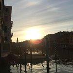 Dawn from hotel pier