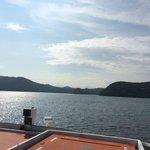 船上からの野尻湖