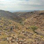 Descente au fond du canyon avec un guide du lodge à la journée