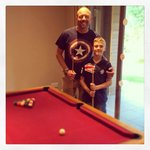 Pool in the lodge games room