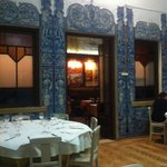 Inside the restaurant - just one of the rooms