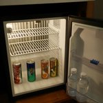 Free drinks in mini bar, daily replenishment
