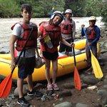 River rafting # 2 Eddy & Nadja