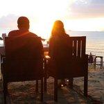 Romantic dinner at the island View restaurant koh samui