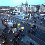 Blick Richtung Amsterdam Centraal