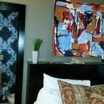 Hotel Room - Glance at the Bathroom