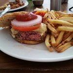 Camel burger  - ask for it well done if you don't like your meat pink inside!