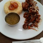 Toasted couscous bouhaloo - chicken too dry