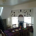 From the dining area