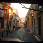The back streets of Lisbon