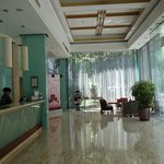 The lobby of Mercure