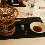 Sushi/sake course - nicest wasabi I have ever tasted!