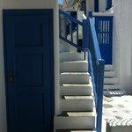 Scale per accedere alle camere superiori