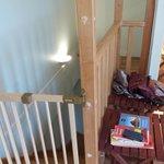 escalier tres raide