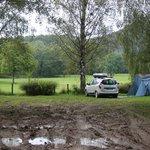 Emplacements des tentes