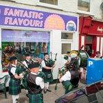 Fantastic Flavours Ice Cream Shop Anniversary Celebration