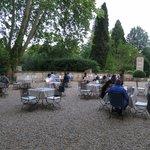 Restaurante jardín