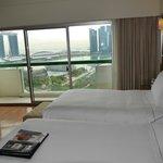 Executive Club Harbourview room at Fairmont Singapore