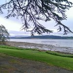 This hotel is right on the Beauly Firth