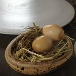 Some dishes taste good too - smoked pickled egg