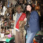Visit our Sangoma (Traditional healer)
