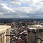 vanuit de Romboutstoren Mechelen