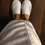Free robe and slippers :-)