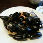 The curried mussels were good.  It was an interesting mix of sweet heat.