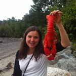 We took the lobsters to go and ate at the beach. Great!
