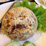 Fried Rice Crispy Pork