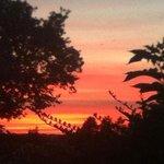 Sunset At Bandholm