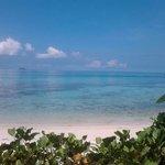 Tepanee private beach