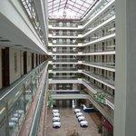 la hall dell'albergo....