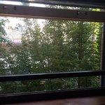 Side window on Salmon Street