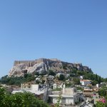 View of the Acropolis from Pool Terrace during the day