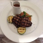 Steak in Avalon is delusions, medium well