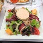Salade Perigourdine (Yum!)