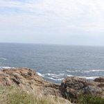 魹ヶ崎の断崖絶壁