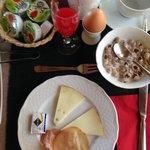 Petit Déjeuner (buffet au choix)