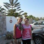 Upon departure monica capogrossi  and mina