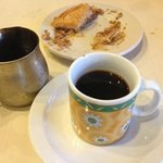 Turkish Coffee and Baklava . . . delicious!