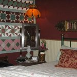 The Madam's Room - very cozy but a little small for two.