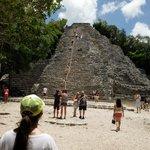 Die Pyramide von Coba