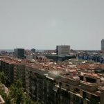 vista desde el octavo piso