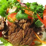 Yum Neau-Spicy Beef Salad