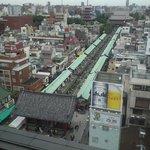 浅草寺を見下ろせるのは貴重です