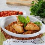 Панцеротти - жареные итальянские пирожки с творожным кремом