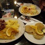 Huevos con salmon. OMG
