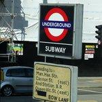 Sign for Underground