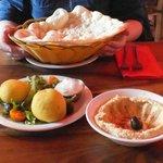 Hummus and Kubba